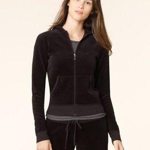 Juicy Couture gray flannel zip hoodie